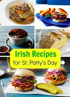 Irish Dinner Party Menu   Most Pinned Holiday Recipes   Pinterest     8 Irish Recipes for St  Patrick s Day
