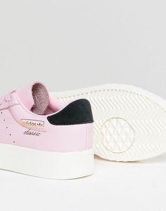 adidas Originals   adidas Originals Everyn Sneakers In Pink Fab Shoes, Adidas  Originals, Asos c51efa1d2d