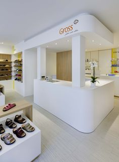 Gross health care supply store by Heikaus, Kornwestheim   Germany store design