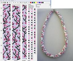 ru / Photo # 106 – Patterns of bead harnesses – lissabon - Crochet Bracelet Pattern, Crochet Beaded Bracelets, Bead Crochet Patterns, Bead Crochet Rope, Beaded Jewelry Patterns, Bracelet Patterns, Beading Patterns, Bead Loom Bracelets, Bead Loom Patterns