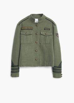 Giacca stile militare - Giacche da Donna  357fe38a6187
