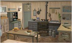 Ashte and Lasir's kitchen. Cottages And Bungalows, Corner Desk, Kitchen Island, Simple, Inspiration, Furniture, Home Decor, Life, Corner Table