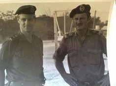 Viljoen and Geldenhuis Brothers In Arms, Defence Force, Korean War, Military Men, African History, Borneo, Vietnam War, The Good Old Days, Armed Forces