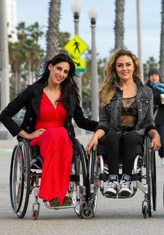 Tiphany and Mia of 'Push Girls' stay fit with and without the wheelchair