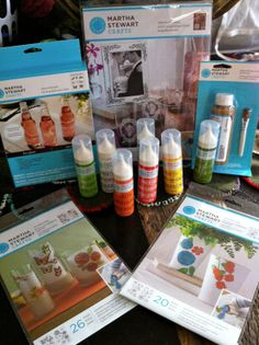 1000 images about paintable clings on pinterest martha for Martha stewart crafts spray paint kit