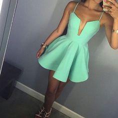 Cute Prom Dress,Cute Prom Gown,Sexy Prom Party Dress,Mini