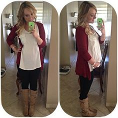 Nice maternity outfit. Fat but cute lol