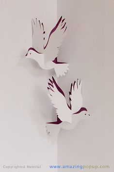 Doves Popup Card | Flickr - Photo Sharing!
