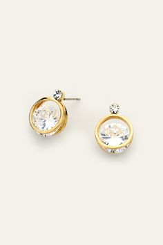 Ova Earrings in Gold on Emma Stine Limited