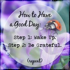 Be Grateful ~ Gratitude Great Quotes, Quotes To Live By, Inspirational Quotes, Awesome Quotes, Motivational Posts, Interesting Quotes, Random Quotes, Happy Quotes, The Words