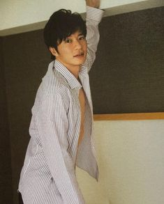 Japanese Male, Hot Guys, Ruffle Blouse, Celebrity, Women, Fashion, Moda, Fashion Styles, Celebs