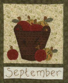 Country Quilt: Quilt Ellie's Place Quilt Country Calendar BOM