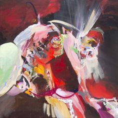 alma fuego 2015 coen van ham 70x70 cm acrylic on canvas