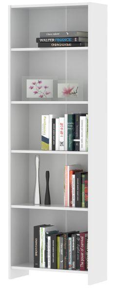 SR regál10, bílá Regál SR10 Barva: bílá Rozměry (šxvxh):. 58,1 x 175 x 24,6 cm Materiál: LTD (laminovaná dřevotřísková deska) Dodáváno v demontu. Záruka 24 měsíců. 1030 Kč Bookcase, Shelves, Home Decor, Shelving, Decoration Home, Room Decor, Book Shelves, Shelving Units, Home Interior Design