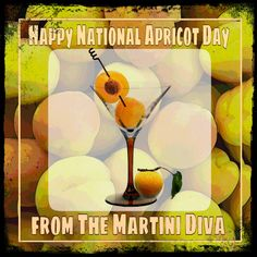 January 9th is #NationalApricotDay. Shake up one of these #Apricot #Cocktails from MartiniDiva.com for the occasion.