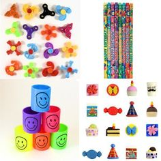 10 Pack Assorted Foil Party Hats Birthday Decoration Party Bags Loot Bag Fillers