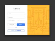 Little login refresh I'm tooling around with for Nooklyn. Feels good to do web work for a change.
