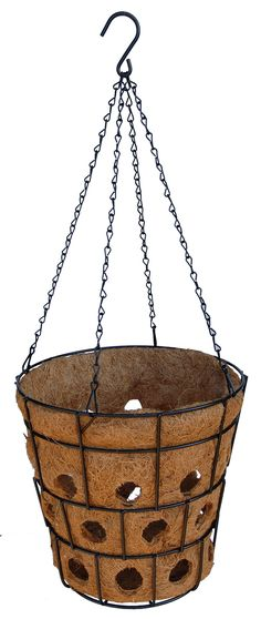 Bloom Big Super Hanging Basket with Chain Hanger - Hanging Baskets, Container Gardening, Hanger, Deck, Bloom, Gardens, Chain, Big, Plants