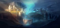 ArtStation - Godwin Akpan's submission on Ancient Civilizations: Lost & Found - Environment Design