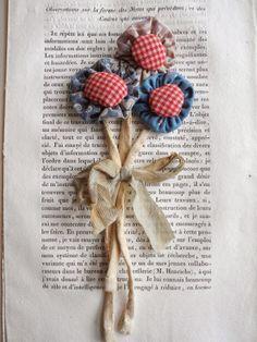 flower brooch, julie arkell workshop - One Bunting Away
