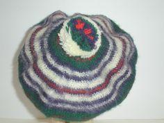 Vintage Dress MacDonald Wool Tam Beret Hat Pom Pom Scotland EUC #DressMacDonald