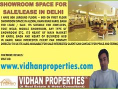Any type of Commercial Property for Sale / Purchase / Lease in Delhi NCR.