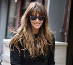 Elle Macpherson is my girl hair crush.