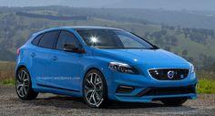 Volvo V40 Polestar, recreando el posible compacto GTI de Volvo - http://www.actualidadmotor.com/2014/05/02/volvo-v40-polestar-recreacion/