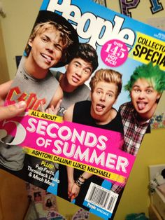 5Sos on people magazine dies*