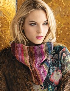 Designed by Rosann Fleischauer using NORO Ito color 16.