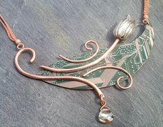 Circuit board design necklace
