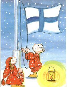 Postcrossing postcard from Finland Scandinavian Christmas, Marimekko, Whimsical Art, Cute Illustration, Illustrators, Postcards, Christmas Cards, Snoopy, Artists
