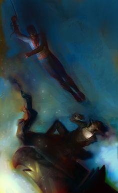 Daniel Clarke- Spider-Man vs. Green Goblin