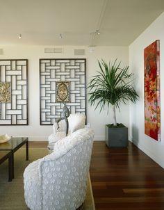 Love the wall panels --Asian Decor