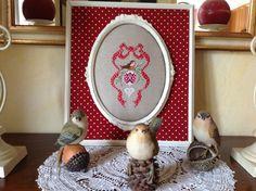 Uccellini di Natale io e Luisa!!!!