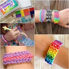 Time to Make Rubber Band Bracelets with this Rainbow Loom