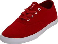Supra women?s Wrap Sneaker 7 D(M) US, Red $30.00