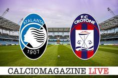 Atalanta-Crotone LIVE sabato 18 febbraio dalle ore 18