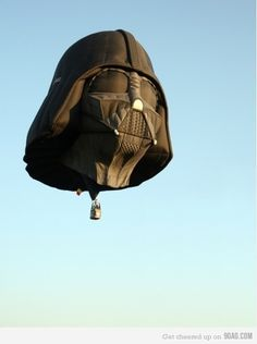 Darth Balloon-maybe you could draw Darth Vader inside the basket?