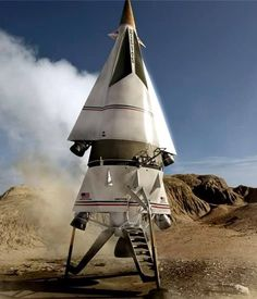Planet of the Apes (1968) ANSA Spacecraft