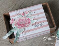 Love for Stamping: Artisan Design Team Blog hop - SU - Birthday Blooms