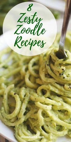Zoodles are a must-have for your dinner table these days. They are low-carb, gluten-free and healthy. But they don't have to be boring, so check out these zesty zoodle recipes you and the family will love!