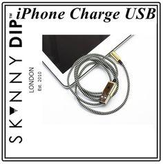 skinnydip スキニーディップ 高級感 ゴールド ブラック コード iphone5 iphone5s iphone6 iphone6plus 用 USB 充電ケーブル 海外 ブランド