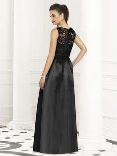 Black lace bridesmaids...Annika, something like this for you, being that I am going to have a lace dress also, will look stunning on you!!