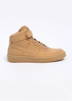 9738091af8e Nike Quickstrike Air Force 1 Downtown Hi Gum LW QS Trainers - Gum Light  Brown