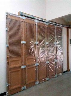 Garage Door Halloween Decor, Garage Door Decor, Garage Door Makeover, Modern Garage Doors, Best Garage Doors, Garage Door Colors, Slider Door, Garages, Wood And Metal