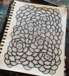 Zen circles zentangle в 2019 г. Doodle Art Drawing, Zentangle Drawings, Mandala Drawing, Doodles Zentangles, Zentangle Patterns, Mandala Art, Doodle Zen, Zen Doodle Patterns, Easy Doodle Art