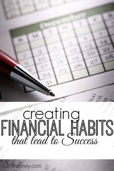 When it comes to money creating habits that last is one of the absolute smartest things you can do. Here are my favorite financial habits + tips on getting started. sell your house habits tips Finance Blog, Finance Tips, Ways To Save Money, How To Make Money, Creating Wealth, Saving Money, Saving Tips, Saving Ideas, Selling Your House