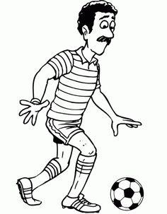 Fußball 15 Ausmalbilder