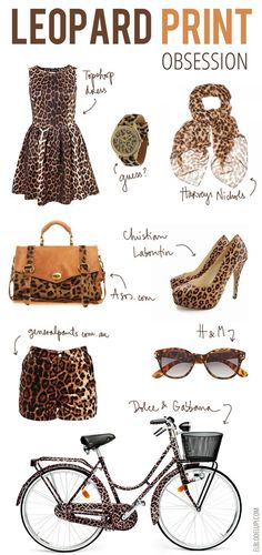 Animal Print-sort of in love right now w animal print!